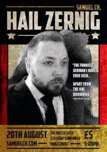 Hail Zernig Samuel Ch Zernig Water Rats