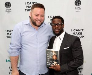 Samuel Ch Zernig with Kevin Hart